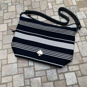 Never Used Kate Spade Striped Handbag (Medium)